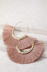 Emma Earrings - Pink