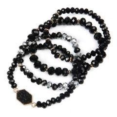 Rylee Bracelets - Black