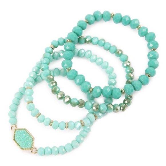 Rylee Bracelets - Mint