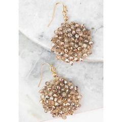 Sadie Earrings - Rose Gold