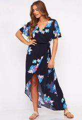 Madeline Dress - Navy