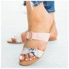 Vella Sandals - Snake