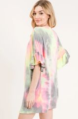 Amaya Cardigan - Tie Dye