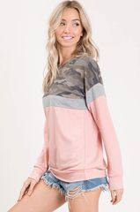 Cali Sweatshirt - Blush