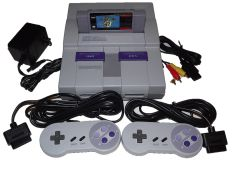 Super Nintendo System with Super Mario