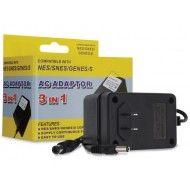 SNES/ Genesis/ NES 3-in-1 Universal AC Adapter