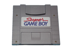 Super Nintendo SNES game boy cartridge player