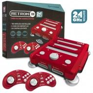 SNES/ Genesis/ NES RetroN 3 Gaming Console (Laser Red)