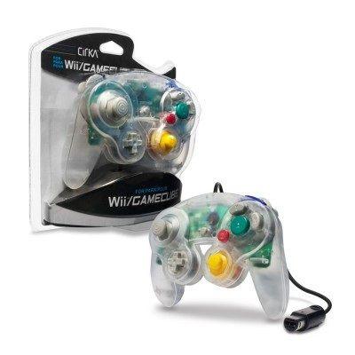 Wii/GameCube Controller (Clear)-CIRKA
