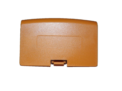 Orange Game Boy Advance Battery Cover