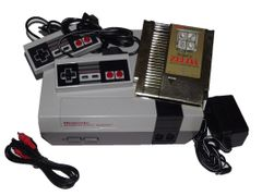 Nintendo NES System with The Legend of Zelda
