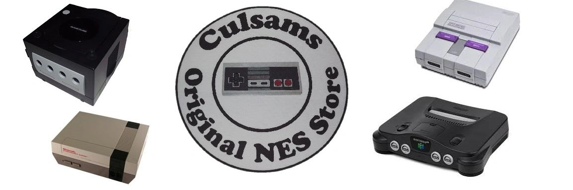 Culsams Original NES Store Nintendo Video Games and Retro