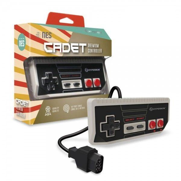 """Cadet"" Premium Controller for NES (Gray)"