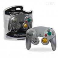 Wii/GameCube Controller (Silver)-CIRKA
