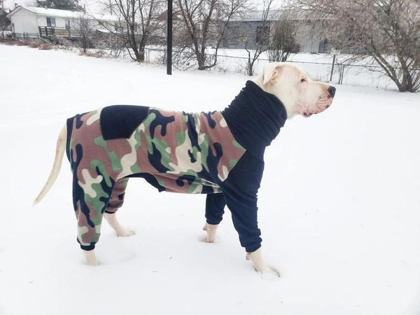 "the Camo ""onesie"" !! ~ standout on your walk !!"