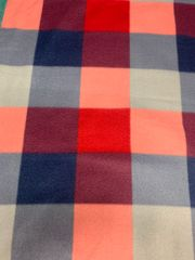 Navy& Red Check
