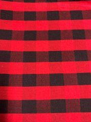 Red Buffalo Plaid - cotton