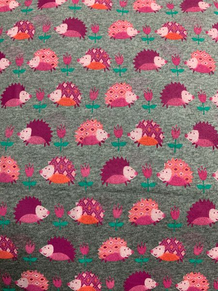 Hedgehog garden - cotton