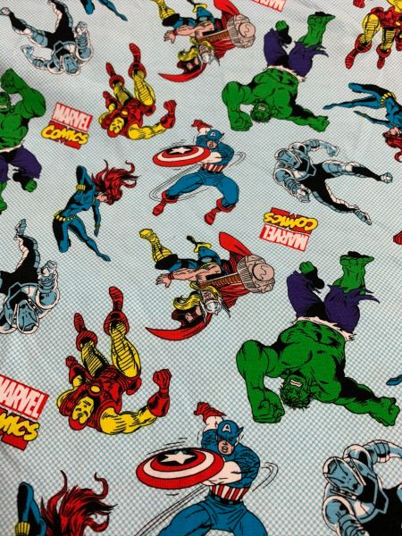 Marvel heros - cotton