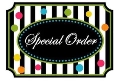 Special Order - Sarah Strydom