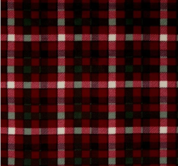 Handsome Plaid - fleece