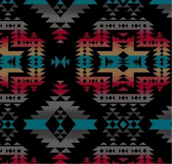 Aztec night - fleece **large print