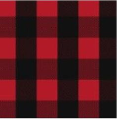 Red Buffalo Plaid - cotton