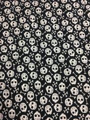 skulls N bones -- cotton
