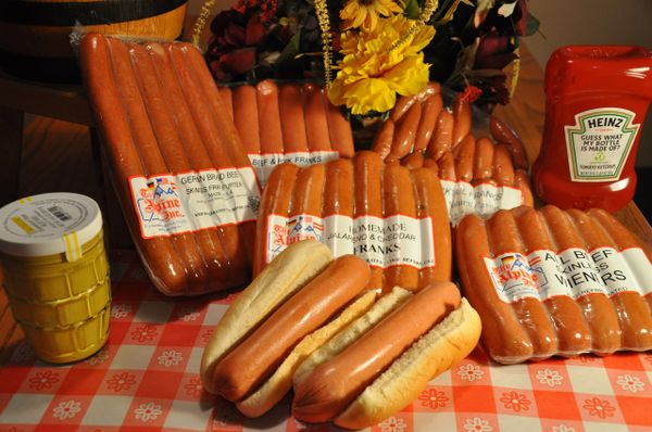 BEEF HOT DOGS
