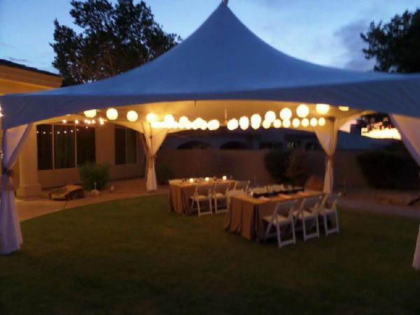 Wedding Tent And Canopy Rental Phoenix Arizona Taylor