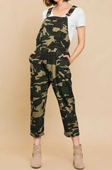 Camouflage Pant Overalls