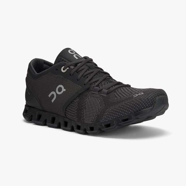 ON CLOUD X WOMEN'S - BLACK/ASPHALT