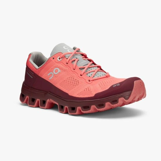 ON CLOUDVENTURE WOMEN'S - CORAL/MULBERRY