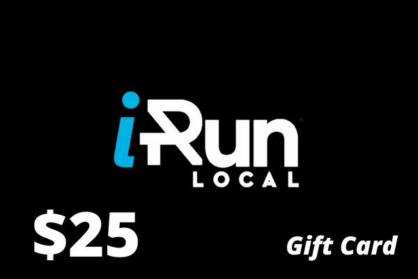 $25 Gift Card to iRun LOCAL