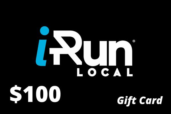 $100 Gift Card to iRun LOCAL