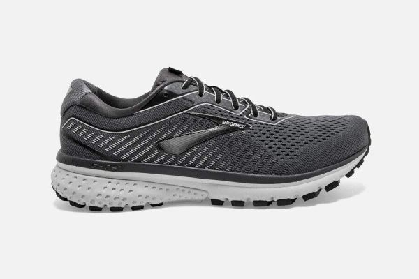 BROOKS GHOST 12 MEN'S - BLACK/PEARL/OYSTER