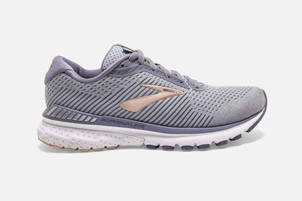 BROOKS ADRENALINE GTS 20 WOMEN'S WIDE - GREY/PEACH/WHITE