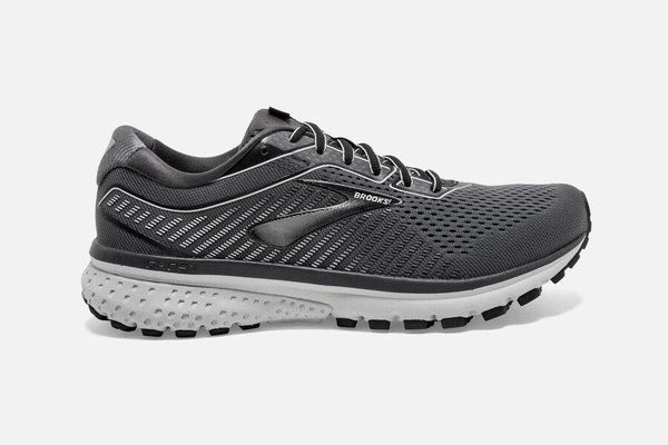 BROOKS GHOST 12 MEN'S WIDE - BLACK/PEARL/OYSTER