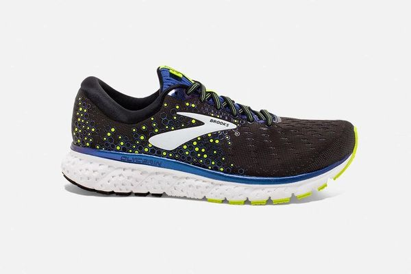SALE BROOKS GLYCERIN 17 MEN'S - BLACK/BLUE/NIGHTLIFE