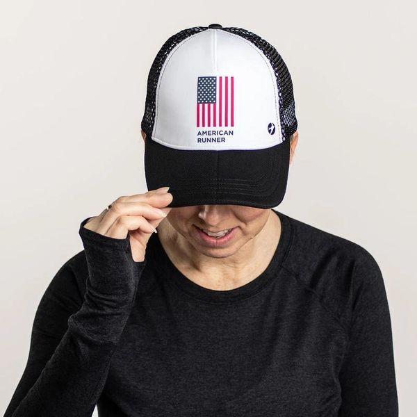 Oiselle Runner Trucker Hat - American Runner