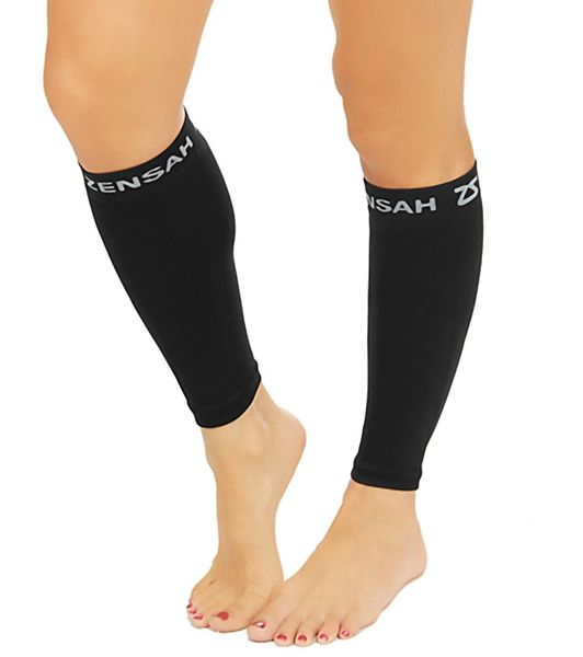 ZENSAH COMPRESSION LEG SLEEVE - BLACK