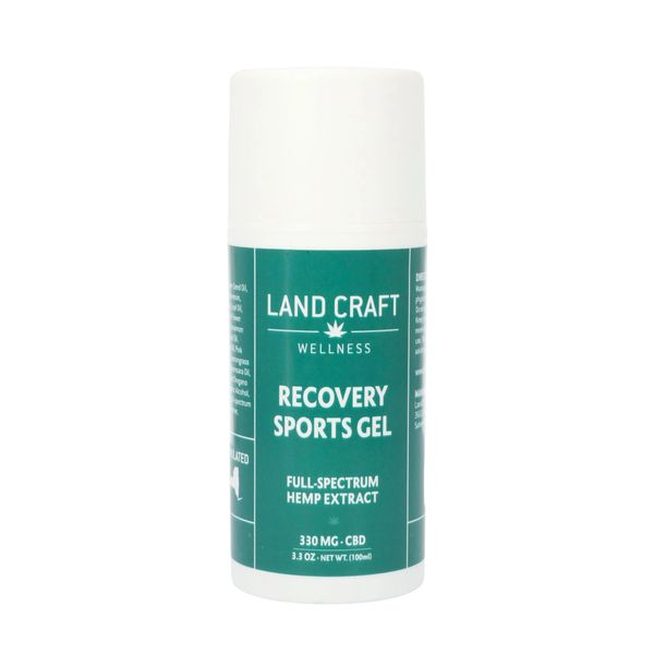 Land Craft CBD Recovery Gel