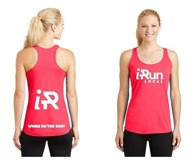 iRun LOCAL Women's Tank