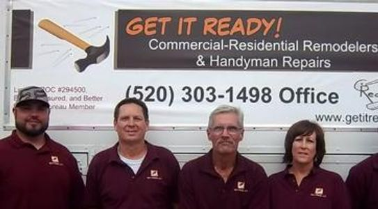 Get it Ready Commercial-Residential Remodelers and Handyman Repairs, Tucson, Arizona (520) 303-1498 Office