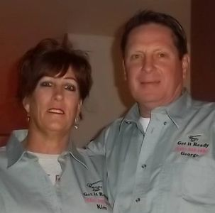 George and Kim, Business Owners, Members, Office Administrator, and Contractor..Get it Ready, LLC Ready-Bath (520) 303-1498
