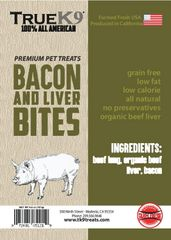 Bacon and Liver Bites 4.5oz