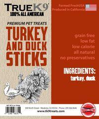 Turkey Duck Sticks 8oz bags