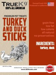 Turkey Duck Sticks 42 oz XXXL Bag