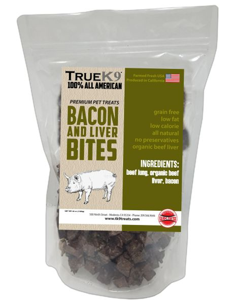 Bacon and Liver Bites 42oz