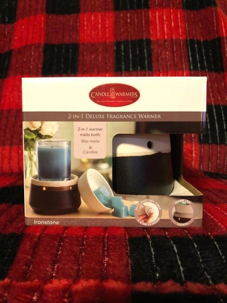 Deluxe 2-In-1 Fragrance Warmer (Candle and/Or fragrance cubes sold separately)